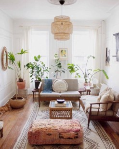 Cozy And Simple Rug Idea For Small Living Room 18