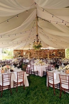 Create Beautiful Outdoor Wedding Decoration You Will Love 17