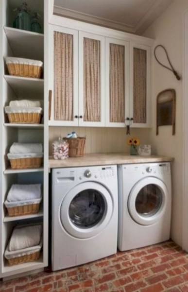 Creative And Inspiring Laundry Room Decor Idea 30