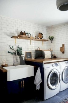 Creative And Inspiring Laundry Room Decor Idea 33