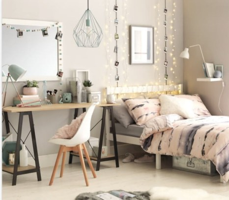 Impressive Bedroom Decoration Idea For Teen Style 07
