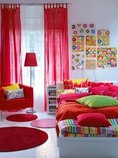 Impressive Bedroom Decoration Idea For Teen Style 20