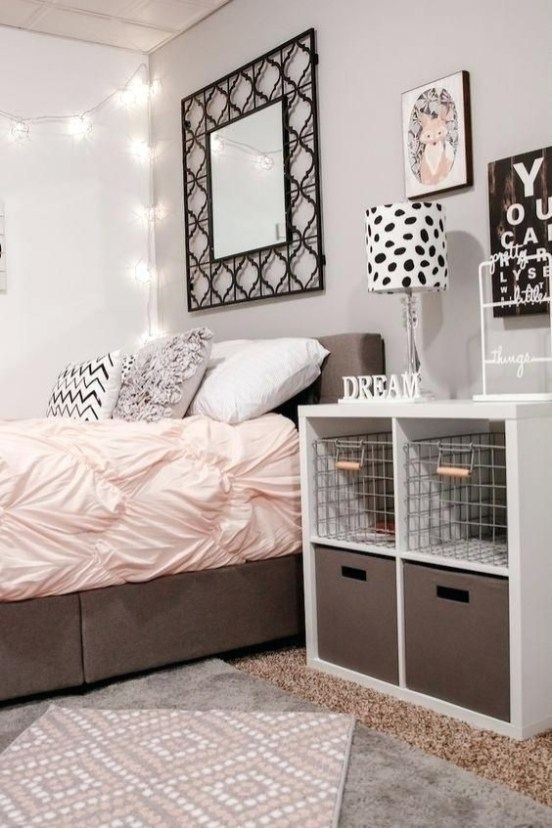 Impressive Bedroom Decoration Idea For Teen Style 34
