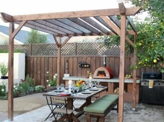 Incredible Small Backyard Ideas For Relax Space 03