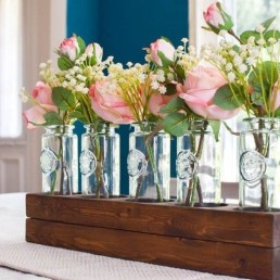 Simple Centerpieces Decoration For Inspiration Your Wedding 03