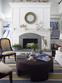 Spring Mantel Decorating Ideas For Fireplace In Living Room 02