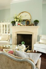 Spring Mantel Decorating Ideas For Fireplace In Living Room 10