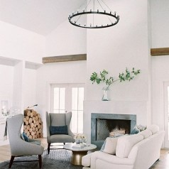 Spring Mantel Decorating Ideas For Fireplace In Living Room 12