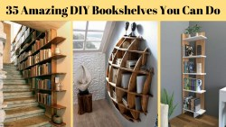 35 Amazing DIY Bookshelves You Can Do