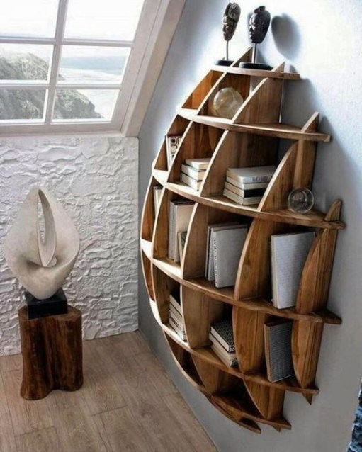 Amazing DIY Bookshelves You Can Do 31