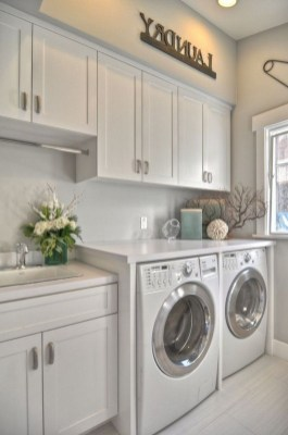 Amazing Small Laundry Room Design You Can Do 07