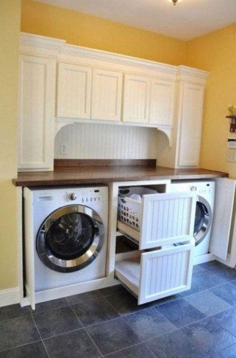 Amazing Small Laundry Room Design You Can Do 12