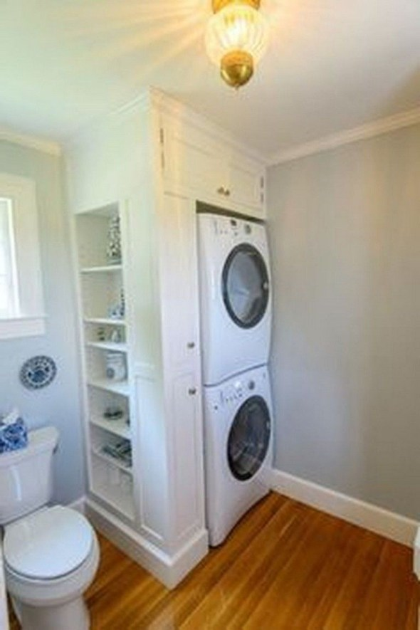 Amazing Small Laundry Room Design You Can Do 17