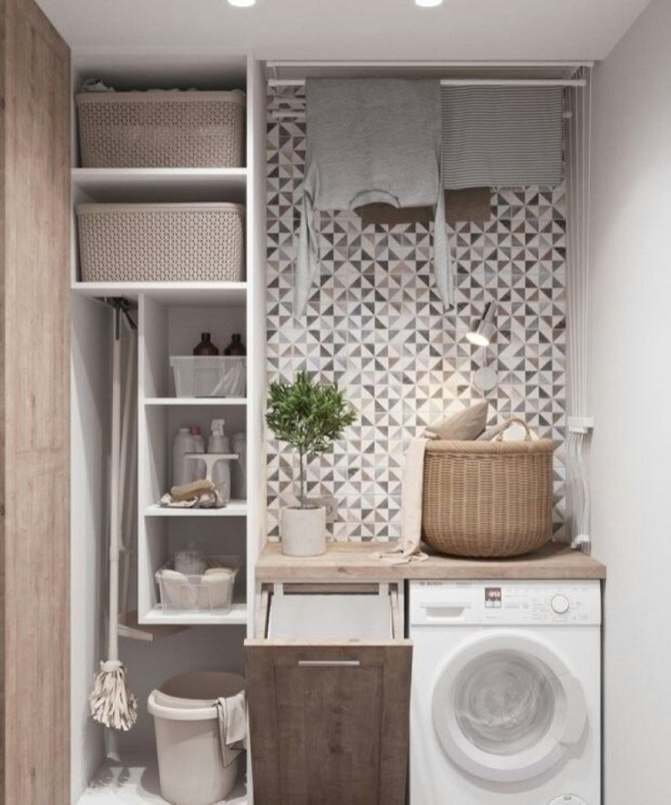Amazing Small Laundry Room Design You Can Do 18