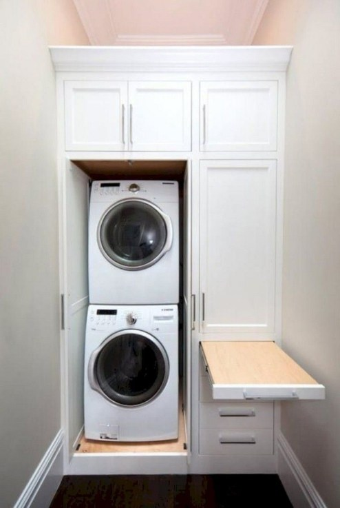 Amazing Small Laundry Room Design You Can Do 23