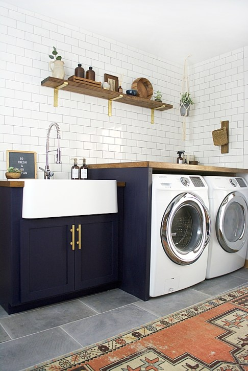 Amazing Small Laundry Room Design You Can Do 32