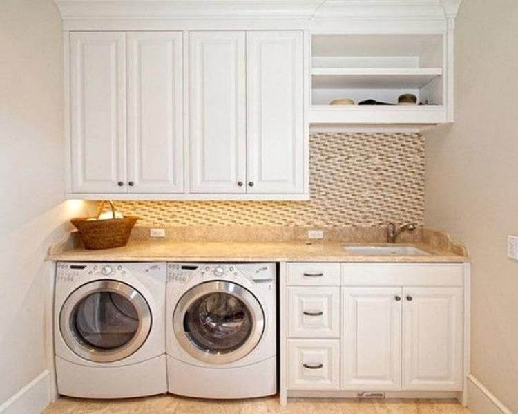 Amazing Small Laundry Room Design You Can Do 34