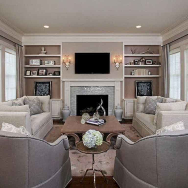 Beautiful Cozy Living Room Design Idea Try For You 23