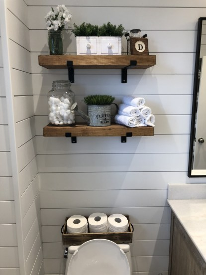 DIY Floating Shelves Bathroom Decor You Must Have 12