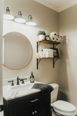 DIY Floating Shelves Bathroom Decor You Must Have 33