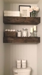DIY Floating Shelves Bathroom Decor You Must Have 36