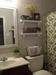 DIY Floating Shelves Bathroom Decor You Must Have 37