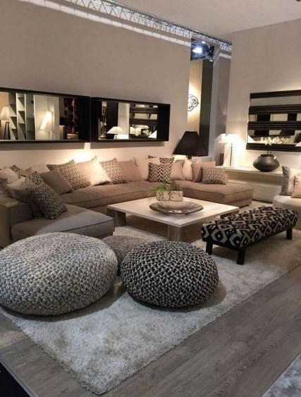 Elegant Living Room Decor You Can Try 14