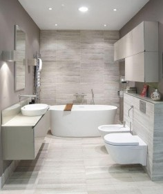 Elegant Modern Bathroom Design For Luxury Style 05