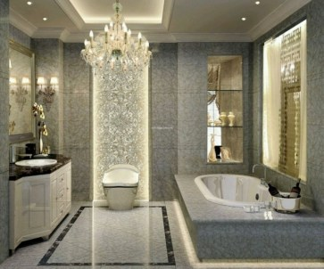 Elegant Modern Bathroom Design For Luxury Style 11