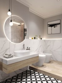 Elegant Modern Bathroom Design For Luxury Style 28