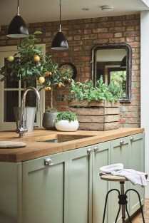 Genius Farmhouse Kitchen Decoration To Be Inspire 22
