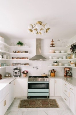 Great Inspiring Modern Kitchen Decoration You'll Love 34