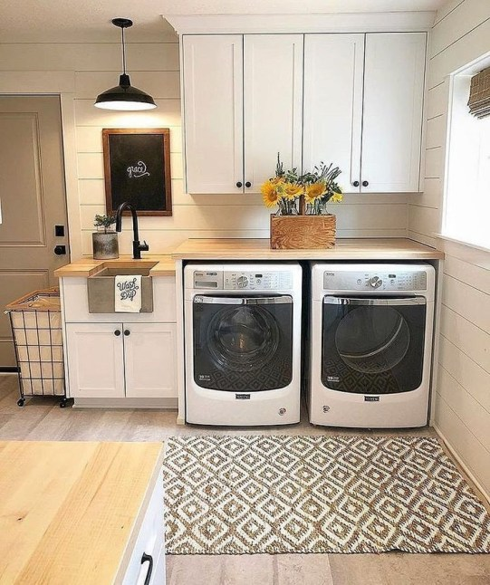 Incredible Storage Ideas For Your Small Laundry Room 13