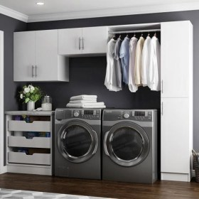 Incredible Storage Ideas For Your Small Laundry Room 22