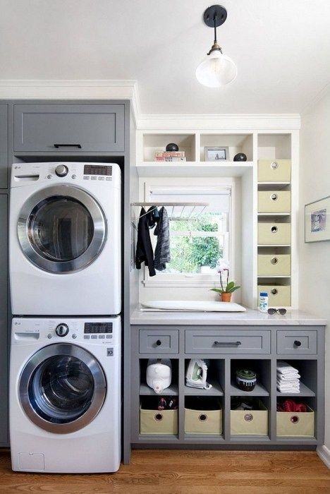 Incredible Storage Ideas For Your Small Laundry Room 33