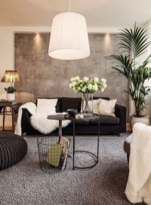 Lovely Modern Apartment Decoration For Couple 14