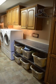 Ways To Make Small Laundry Room To Look Big Space 12