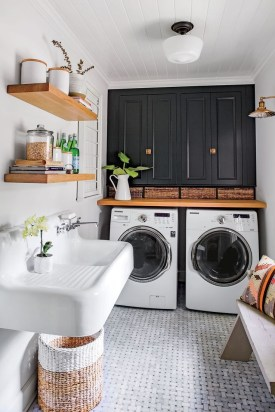 Ways To Make Small Laundry Room To Look Big Space 16