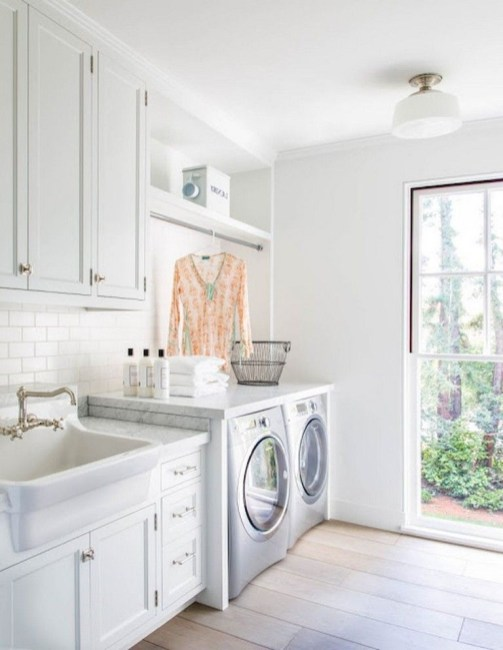 Ways To Make Small Laundry Room To Look Big Space 19