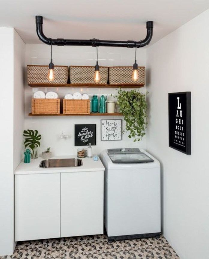 Ways To Make Small Laundry Room To Look Big Space 25