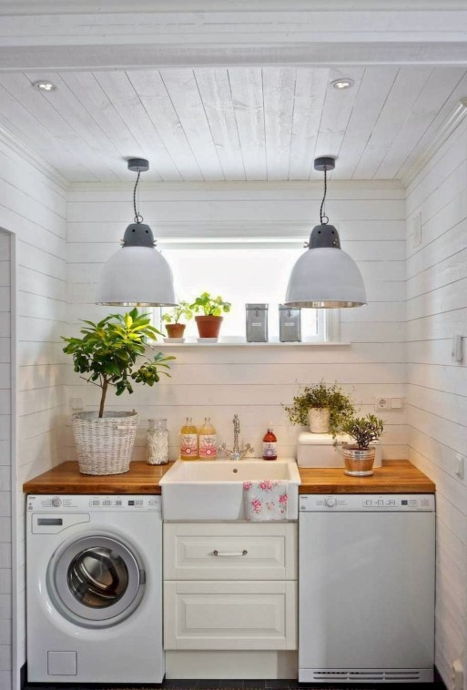 Ways To Make Small Laundry Room To Look Big Space 31