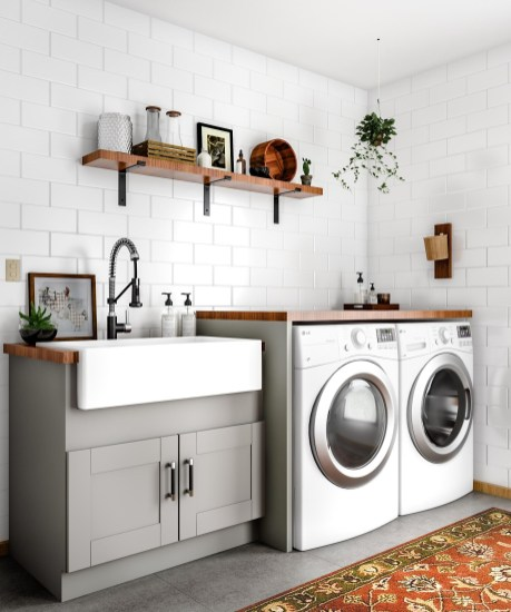Ways To Make Small Laundry Room To Look Big Space 33