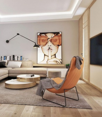 Amazing Small Living Room Decor Idea For Your First Apartment 06