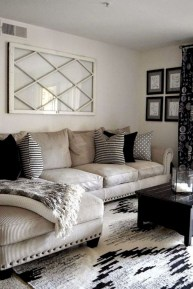 Amazing Small Living Room Decor Idea For Your First Apartment 11