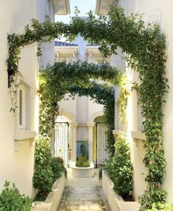 Fresh And Beautiful Side Yard Decoration You Must Have 11