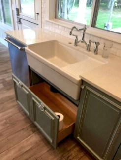 Best DIY Farmhouse Kitchen Decorating Ideasl 33