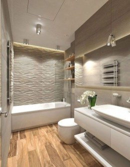 Gorgeous Small Master Bathroom Remodel Ideas 20