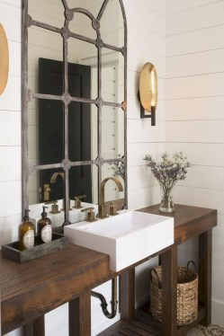 Industrial Farmhouse Bathroom Reveal 07