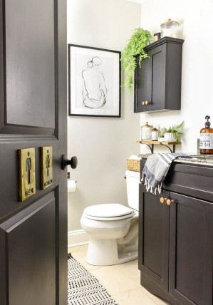 Industrial Farmhouse Bathroom Reveal 17