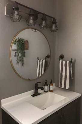 Industrial Farmhouse Bathroom Reveal 24